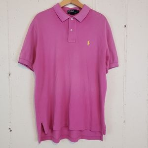 Polo by Ralph Lauren Lg Pink Polo